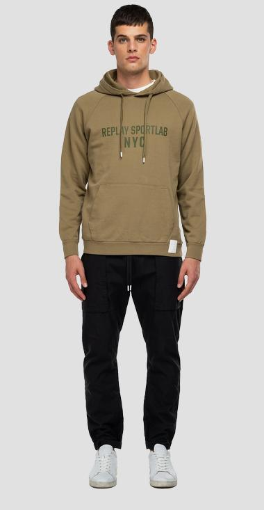 REPLAY SPORTLAB hoodie with pocket - Replay M3472_000_S23172_739_1
