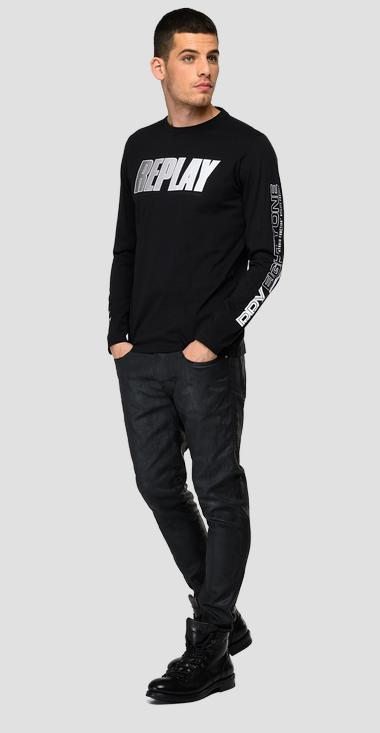 RPY EIGHTY ONE long-sleeved t-shirt - Replay M3492_000_2660_098_1