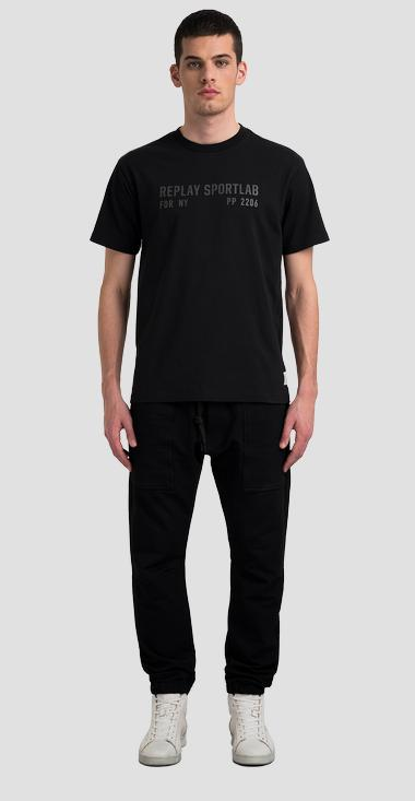 REPLAY SPORTLAB FDR NY PP 2206 jersey t-shirt - Replay M3517_000_S23228_098_1