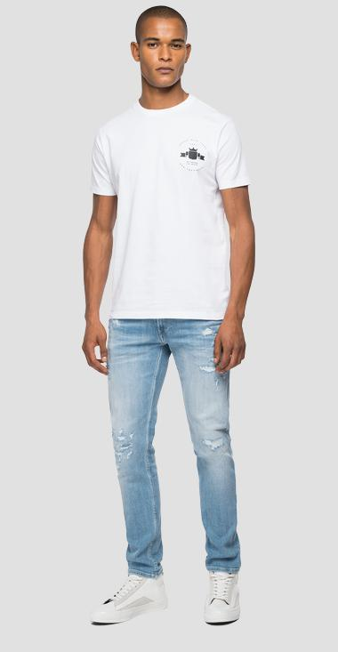 Archive REPLAY BLUE JEANS jersey t-shirt - Replay M3555_000_22608_001_1