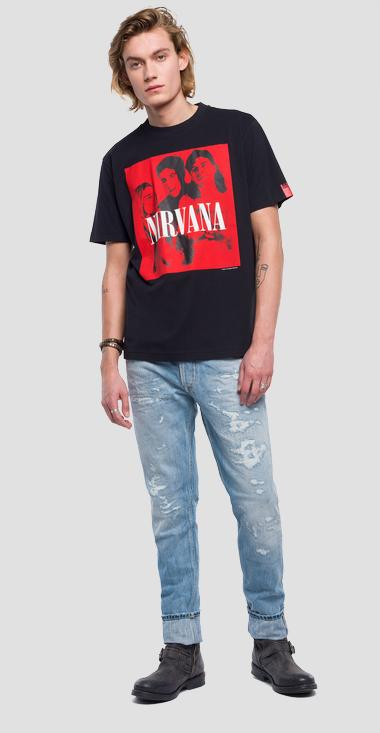 Replay Nirvana Tribute t-shirt - Replay M3663B_000_22628_098_1