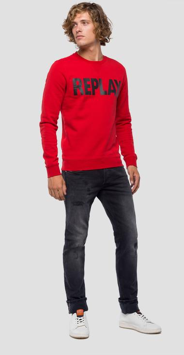 REPLAY logo sweatshirt - Replay M3666_000_21842_357_1