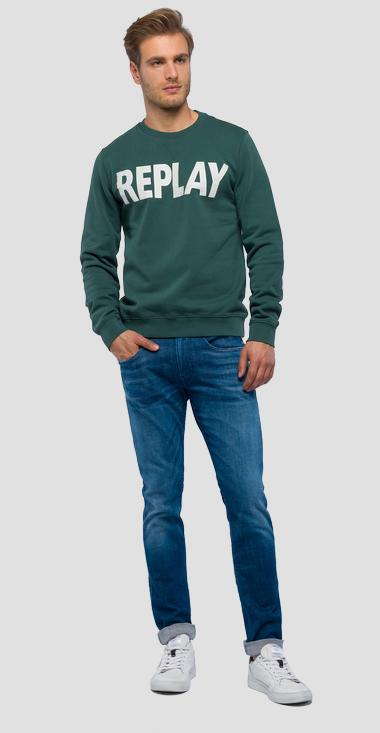 REPLAY logo sweatshirt - Replay M3666_000_21842_837_1
