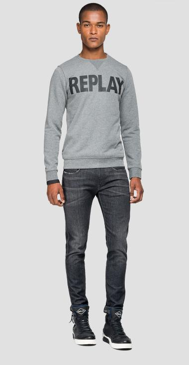 REPLAY logo sweatshirt - Replay M3666_000_21842_M14_1
