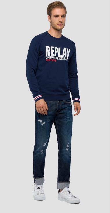 REPLAY CHRONICLE DELUXE sweatshirt - Replay M3803_000_22390P_085_1