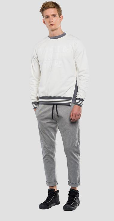 Sweatshirt with side zipper REPLAY SPORTLAB  - Replay M3837_000_S22390P_011_1