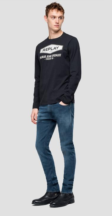 THE BLUE JEANS SPECIALIST t-shirt - Replay M3850_000_2660_098_1