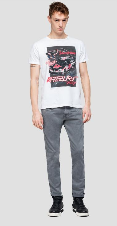 REPLAY RACING t-shirt - Replay M3877_000_22662_001_1