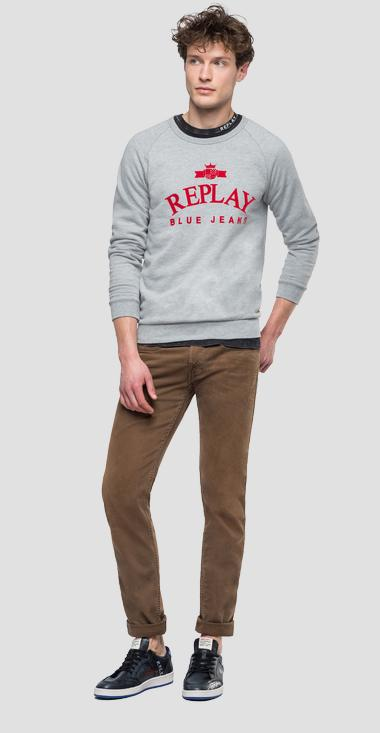 REPLAY BLUE JEANS sweatshirt - Replay M3916_000_21842_M05_1