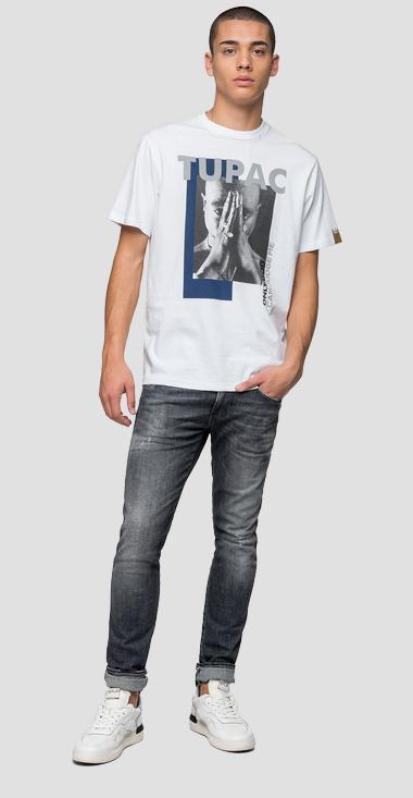 Replay Tribute Tupac Limited Edition t-shirt - Replay M3946Q_000_22628A_001_1