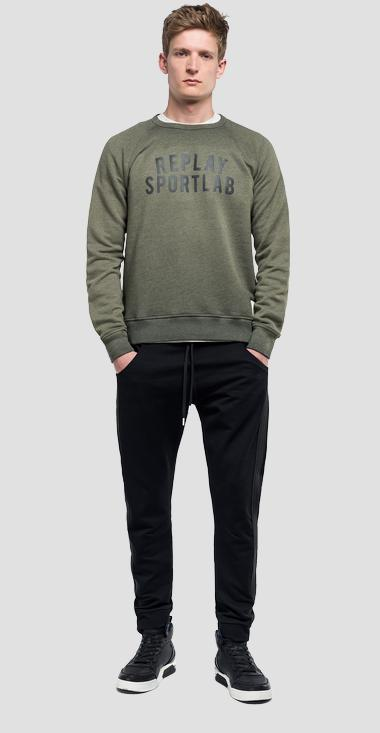 REPLAY SPORTLAB sweatshirt - Replay M3963_000_S22742A_314_1