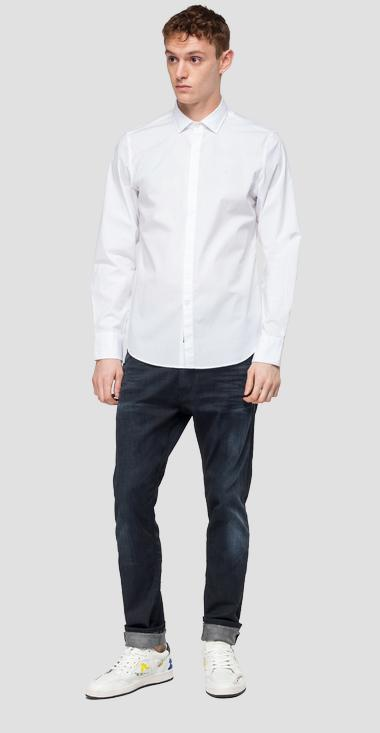 Classic cotton shirt - Replay M4006_000_80279A_001_1