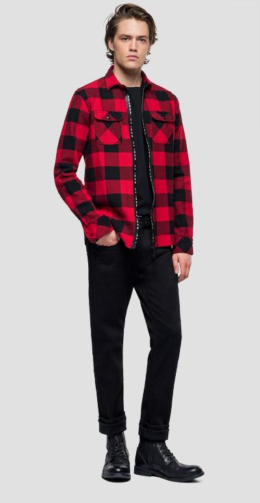 Checked shirt - Replay M4015_000_52132_010_1