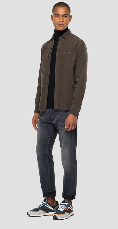 Corduroy velvet shirt - Replay M4032_000_83944G_711_1