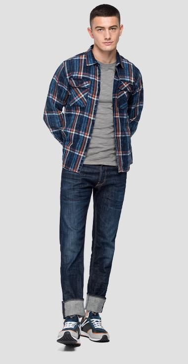 Checked shirt with pockets - Replay M4033_000_52314_010_1