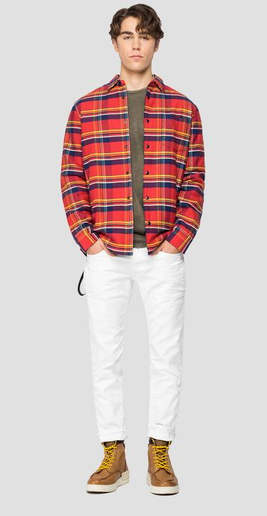 Padded checked shirt - Replay M4035_000_52334_010_1