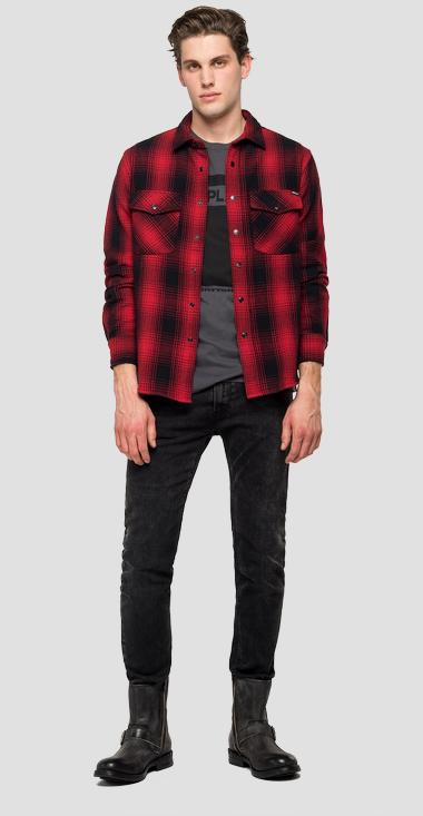Scottish flannel shirt - Replay M4036_000_52332_010_1