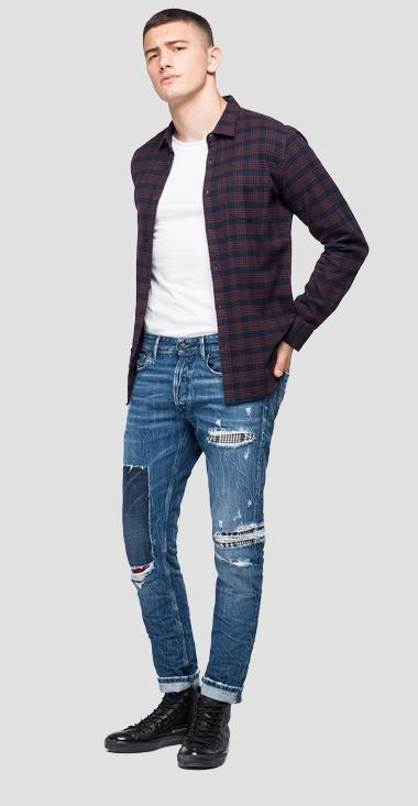 Checked flannel shirt - Replay M4038_000_52338_010_1