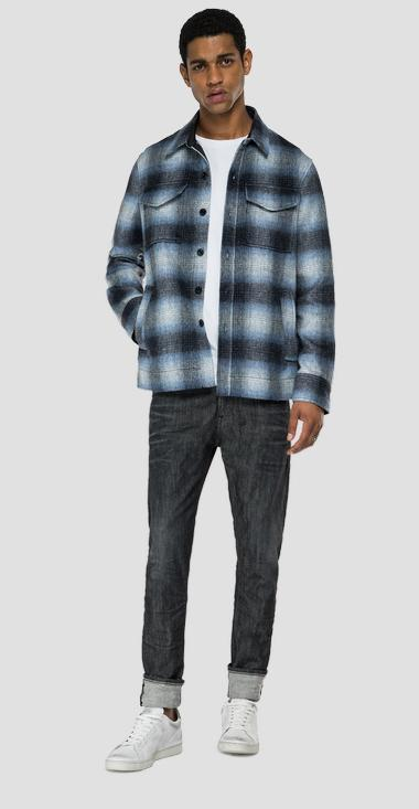 Checked flannel shirt - Replay M4048W_000_52464_010_1