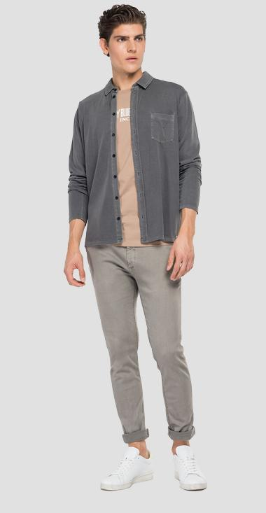 Essential cotton shirt - Replay M4064_000_23100G_297_1