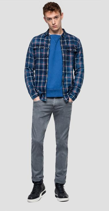 Checked shirt with faded effect - Replay M4987_000_52136_010_1