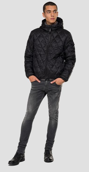 Padded jacket with hood - Replay M8001_000_83406_098_1