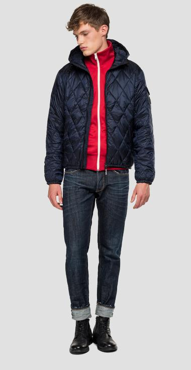 Padded jacket with hood - Replay M8001_000_83406_500_1