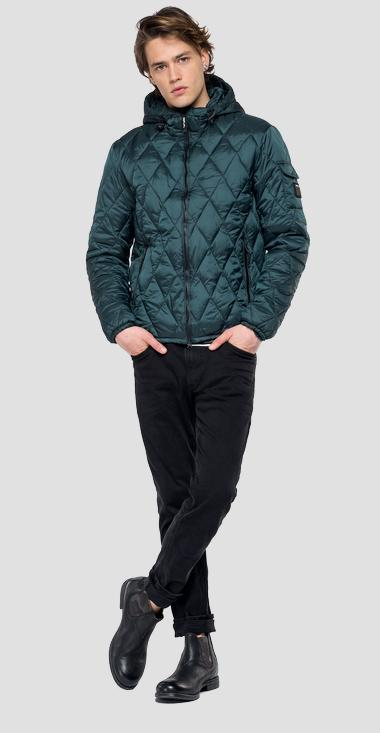 Padded jacket with hood - Replay M8001_000_83406_839_1
