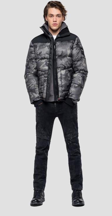 Bomber jacket with camouflage print - Replay M8020_000_71802_010_1