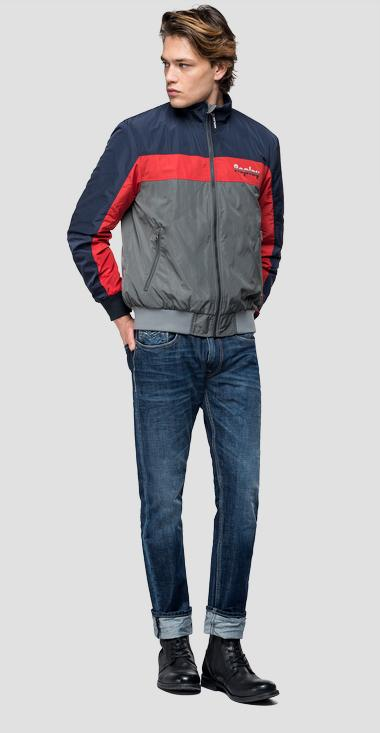 Tricolour sporty jacket - Replay M8025_000_83110_010_1