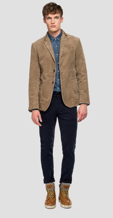 Classic corduroy jacket - Replay M8033_000_83434_326_1