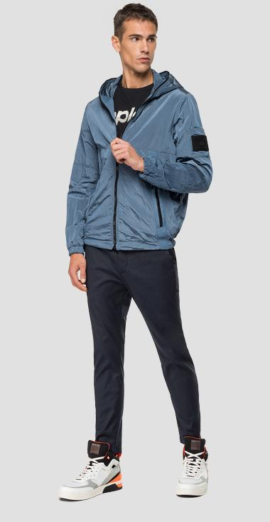 Crinkled nylon jacket - Replay M8034_000_83286_285_1