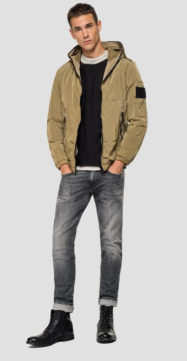 Crinkled nylon jacket - Replay M8034_000_83286_426_1