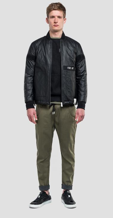 Zipped jacket sportlab - Replay M8039_000_S83450_098_1