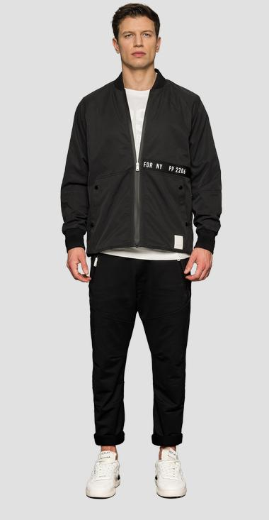 SPORTLAB zipper jacket - Replay M8062_000_S83660_098_1