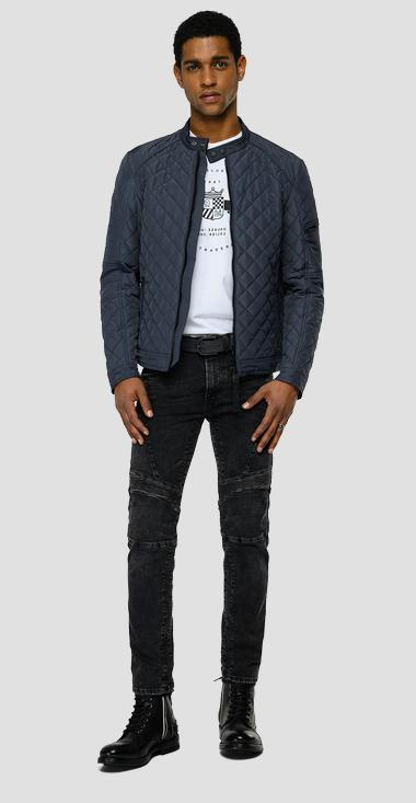 Recycled quilted jacket - Replay M8084A_000_84172_399_1