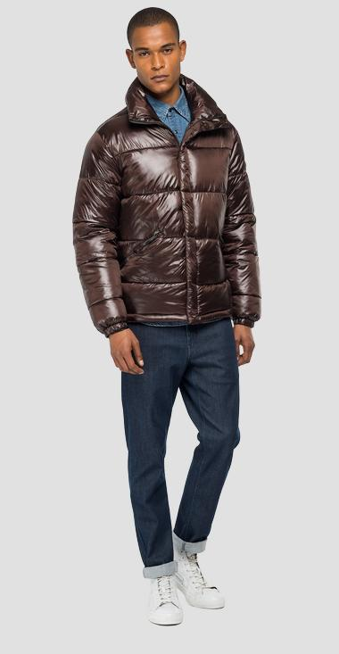Turtleneck padded jacket - Replay M8092_000_83834_521_1