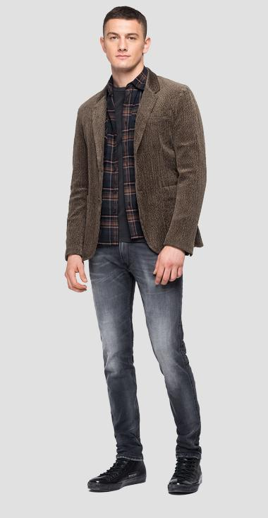 Corduroy velvet jacket - Replay M8113_000_80895_711_1
