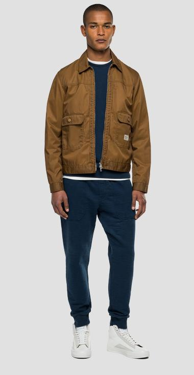 Agender Replay Tailored twill jacket - Replay M8126A_000_83274_329_1