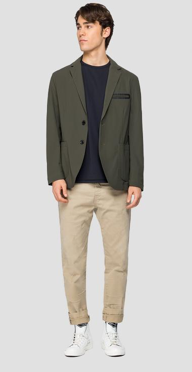 Evoflex jacket with lapels - Replay M8128_000_20641_935_1
