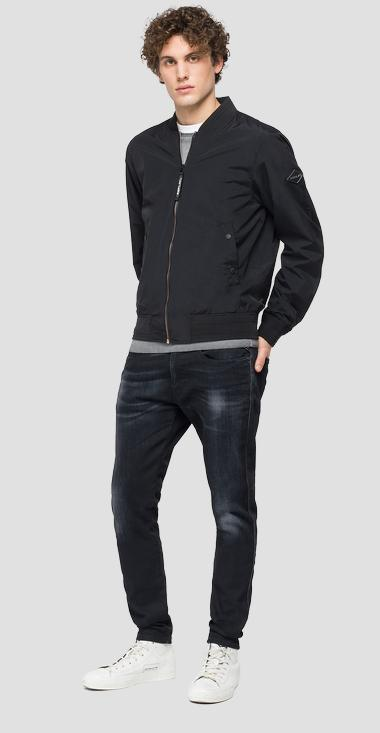 REPLAY jacket in recycled nylon - Replay M8150_000_84048_098_1