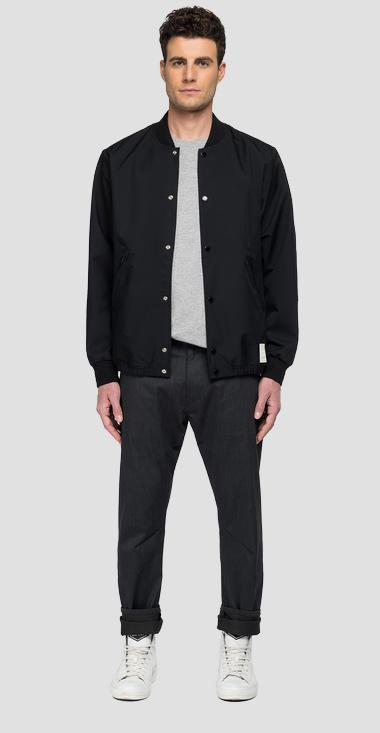 REPLAY SPORTLAB bomber jacket with pockets - Replay M8164_000_S84138_098_1