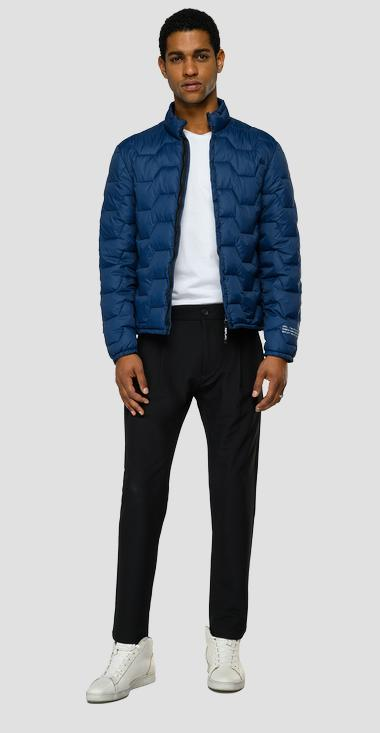 Half neck mid weight recycled jacket - Replay M8177_000_84170_395_1
