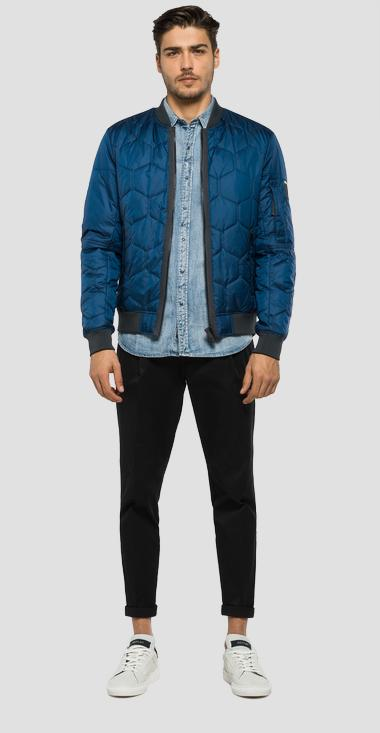 Quilted jacket - Replay M8811_000_82692_784_1