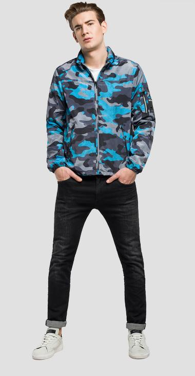 Camouflage-print jacket - Replay M8812_000_71204_020_1