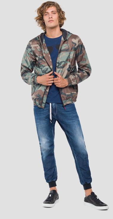 Technical camouflage jacket - Replay M8966A_000_71704_010_1