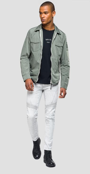 Double pocket technical jacket - Replay M8968A_000_83110_874_1