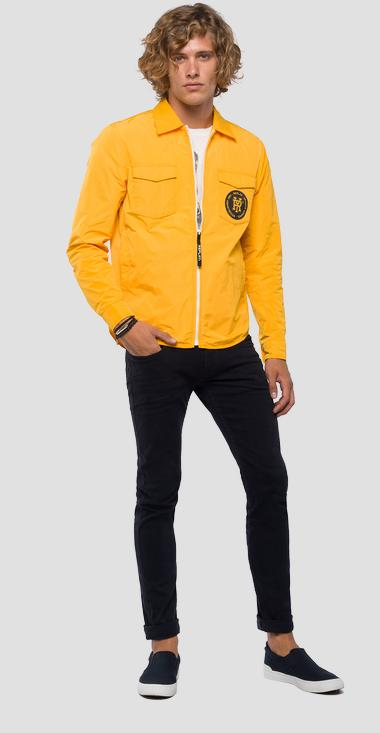 RY logo technical jacket - Replay M8968B_000_83110_140_1