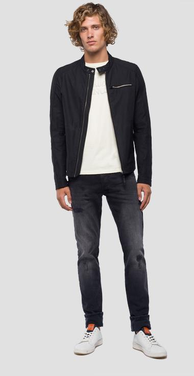 Jacket in nylon with zipper - Replay M8972_000_82990_098_1