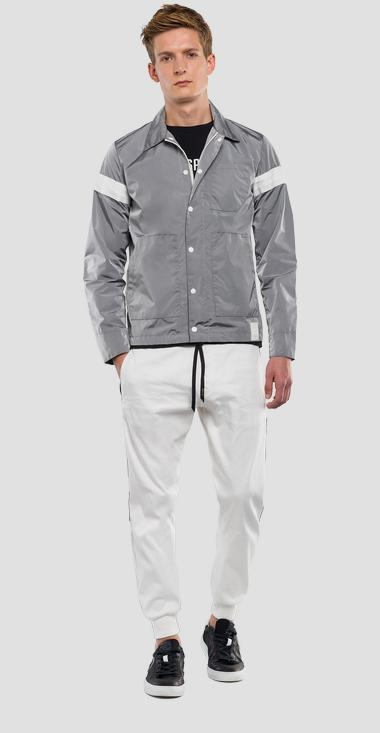Jacket with refractive effect REPLAY SPORTLAB - Replay M8983_000_S83360_589_1